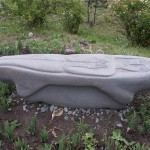 Ладья, вид сбоку (базальт)
