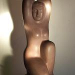 Сидящая (речной песчаник, 67-25-27 см, 1991 г.)