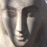 Ладья, фрагмент, вид спереди (базальт)