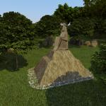 Проект Трианон, скульптура 3