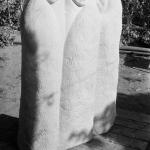 Композиция (мраморовидный известняк, 165-120-80 см, 1986 г.)